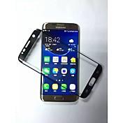 película protectora de la superficie laminada 3d vidrio templado endurecido para el borde s7 Samsung