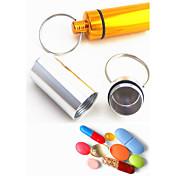 키 체인 원통형 고품질 키 체인 / 멀티기능 무지개 알루미늄 / 메탈