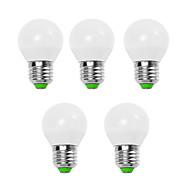 5w e14 / e26 / e27 led 글로브 전구 g45 12 smd 2835 450 lm 따뜻한 흰색 / 차가운 흰색 장식 v 5 pc