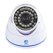 주안 ® 700tvl 보안 감시 CCTV 카메라 돔 비디오 모니터 36 IR led 야간 시계 실내 가정