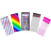 5pcs 아트 스티커 네일 스트립 테이프를 포일 메이크업 화장품 아트 디자인 네일