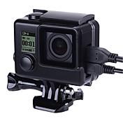 액션 카메라 / 스포츠 카메라 케이스와 스탠드 에 대한 Gopro 4 Gopro 3 Gopro 3+ 러닝 도로 사이클링 수렵 스키 등산