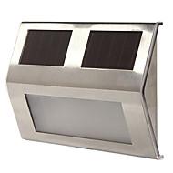 3-led beyaz güneş enerjili ışık lamba bahçe bahçe yolu geçit merdiven otomatik aydınlatma