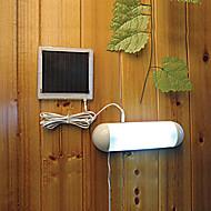 5-Led Indendørs Udendørs Hvid Lys Led Soldrevent  Panel Have Kontakt Lampe Skur Have Lys