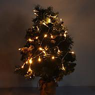 4M 3W 40-LED 210LM Warm White Light LED Strip Light til Julepynt