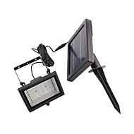 Solar Power Ultra kirkas 30 LED Puutarha Flood Spot Light Nurmikko Cool White Lamp (CIS-57258)