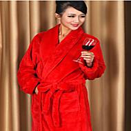 Kylpytakki Punainen,Tukeva Korkealaatuinen 100% polyesteri Pyyhe