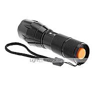 LED Lommelygter Lommelygter Clips Og Beslag LED 2000/1200/1600 Lumen 5 Tilstand Cree XM-L T6 18650 Glidesikkert Greb Genopladelig Vandtæt