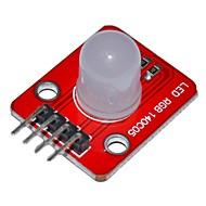 Keyes 140c05 elektroniske byggesteinene full farge førte modul for Arduino - rød + hvit