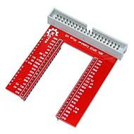 DIY GPIO utvidelseskort for bringebær pi b +