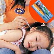könnyű műanyag fül fecskendőt (véletlenszerű szín / 3hand)