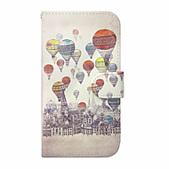 Για Samsung Galaxy S7 Edge Πορτοφόλι / Θήκη καρτών / με βάση στήριξης / Ανοιγόμενη tok Πλήρης κάλυψη tok Μπαλόνι Συνθετικό δέρμα Samsung