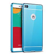 For Huawei etui P9 P8 P8 Lite Belægning Spejl Etui Bagcover Etui Helfarve Hårdt Akryl for HuaweiHuawei P9 Huawei P8 Huawei P8 Lite Huawei