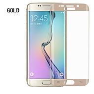 asling teljes finanszírozás arc edzett üveg kijelző 9h szuper keménységű ultra vékony 0.2 mm vastagságú Samsung Galaxy S6 szélén