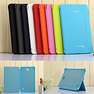 hoge kwaliteit 1: 1 bedrijf ultra slimme geval cover van het boek voor de Samsung Galaxy Tab 3 lite 7.0 / tab 3 7.0 / tab 4 7.0
