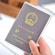 Pasaport Tutucu ve Kimlik Tutucu Pasaport Kapağı Taşınabilir için Seyahat Depolama
