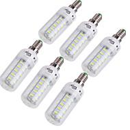 4W E14 E26/E27 LED-kolbepærer T 36 SMD 5730 228 lm Varm hvid Kold hvid Dekorativ Vekselstrøm 220-240 Vekselstrøm 110-130 V 6 stk.