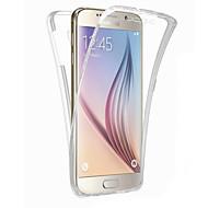 Για Samsung Galaxy S7 Edge Διαφανής tok Πλήρης κάλυψη tok Μονόχρωμη TPU Samsung S7 edge / S7 / S6 edge plus / S6 edge / S6 / S5