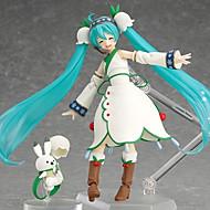 보컬로이드 Hatsune Miku PVC 애니메이션 액션 피규어 모델 완구 인형 장난감
