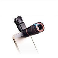 8X18 mm Μονόφθαλμο Μικρό Μέγεθος Κινητό τηλέφωνο Γενική Χρήση Παρακολούθηση Πουλιών BAK4 Multi-Stratificat Întreg 250/1000