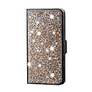 Για Samsung Galaxy Θήκη Στρας tok Πλήρης κάλυψη tok Λάμψη γκλίτερ Συνθετικό δέρμα Samsung S6 edge plus / S6 edge / S6 / S5 / S4 / S3