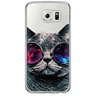 Για Samsung Galaxy S7 Edge Εξαιρετικά λεπτή / Ημιδιαφανές tok Πίσω Κάλυμμα tok Γάτα Μαλακή TPU SamsungS7 edge / S7 / S6 edge plus / S6