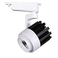 15w 1200lm warm koel wit LED-licht spoor plafond rail spot rail super helder (AC220-240V)