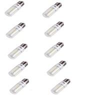 4 E26/E27 LED-maïslampen T 56 SMD 5730 240 lm Warm wit Decoratief AC 220-240 V 10 stuks