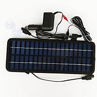zdm® 3.5W 12v araç şarj güç adaptörü çıkış monokristal silisyum güneş paneli (dc12-18v)