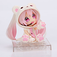 Anime Φιγούρες Εμπνευσμένη από Στολές Ηρώων Snow Miku PVC 14 CM μοντέλο Παιχνίδια κούκλα παιχνιδιών