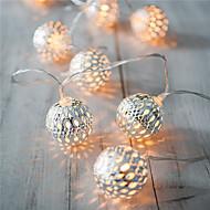 święto światła lampy led strip 20 kulek / set doprowadził ciąg świateł wesele bajki Boże Narodzenie dekoracji