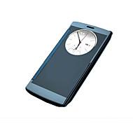Για Θήκη LG με παράθυρο / Επιμεταλλωμένη tok Πλήρης κάλυψη tok Μονόχρωμη Σκληρή Ακρυλικό LG LG G4