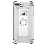 용 케이스 커버 충격방지 링 홀더 뒷면 커버 케이스 단색 하드 메탈 용 Apple 아이폰 7 플러스 아이폰 (7) iPhone 6s Plus iPhone 6 Plus iPhone 6s 아이폰 6