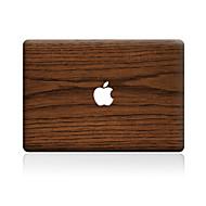 1 db Karcolásvédő Fa mintázat Átlátszó szintetikus Matrica Minta MertMacBook Pro 15'' with Retina MacBook Pro 15 '' MacBook Pro 13'' with
