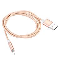 Lightning USB 3.0 Kabel Przewód do ładowania Kabel do ładowania Dane i synchronizacja Magnes Kręcone Kable Na Apple iPhone iPad cm Nylon