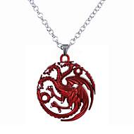 Muškarci Žene Ogrlice s privjeskom Jewelry Circle Shape Legura Kružni dizajn Jedinstven dizajn Stil logoa Stil višenja Jewelry Za
