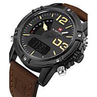 NAVIFORCE Męskie Sportowy Wojskowy Do sukni/garnituru Modny Zegarek na nadgarstek Zegarek na bransoletce Unikalne Kreatywne WatchCyfrowe