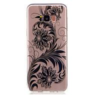 Voor Hoesje cover Transparant Patroon Achterkantje hoesje Kanten ontwerp Bloem Zacht TPU voor Samsung S8 S8 Plus S7 edge S7 S6 edge S6 S5