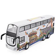 Aufziehbare Fahrzeuge Bus Metall