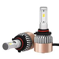 2db 9005 fényszóró 72W 7200lm Philips LED készlettel magas alacsony sugár cserélje halogén xenon 6500K 12v