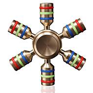 Fidget Spinners Przędzarka ręczna Zabawki Zabawki Ceramika Mosaz EDCStres i niepokój Relief Zabawki biurkowe Zwalnia ADD, ADHD, niepokój,