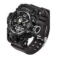 SANDA Męskie Sportowy Wojskowy Inteligentny zegarek Modny Zegarek na nadgarstek Japoński CyfroweLED Dwie strefy czasowe Opaski fitness