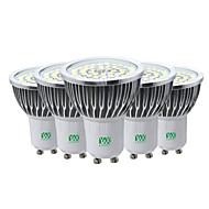 7W LED 스팟 조명 48 SMD 2835 600-700 lm 따뜻한 화이트 차가운 화이트 내추럴 화이트 장식 V 5개 GU10