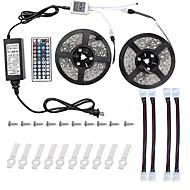 72W Işık Setleri 6800-7200 lm AC100-240 V 10 m 600 led RGB