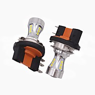 2x mini design super brilhante h15 levou farol lâmpada h15 alto feixe baixo / led drl função adequada para vw audi bmw ford