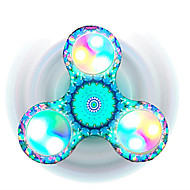 Fidget Spinners Przędzarka ręczna Zabawki Tri-Spinner Tworzywo sztuczne EDCFocus Toy Zwalnia ADD, ADHD, niepokój, autyzm Stres i niepokój
