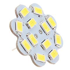 1.5w g4 led mennyezeti lámpák 12 smd 5630 150 lm természetes fehér dc 12 v