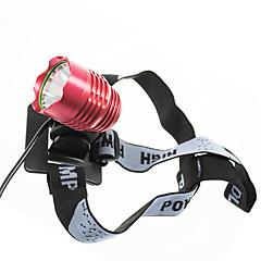 Cree XM-L T6 3 mód 1200 Lumen LED Bike / kerékpár Front Light (4-1T63MBL)