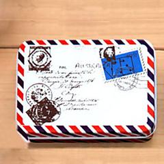 직사각형 봉투 패턴 주석 상자