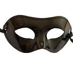 Μάσκα Στολές Ηρώων Γιορτές/Διακοπές Κοστούμια Halloween Μαύρο Μονόχρωμο Μάσκα Halloween / Απόκριες / Νέος Χρόνος Γιούνισεξ PVC